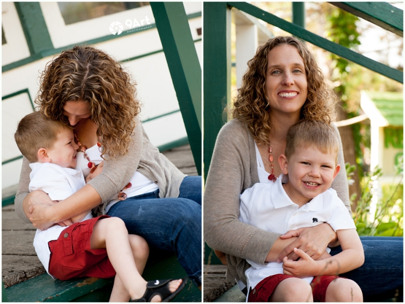 hunter: baby's 1st year #5 mom and son
