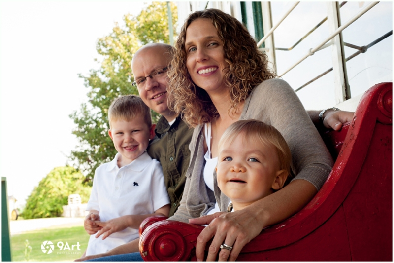 hunter: baby's 1st year #4 family portrait