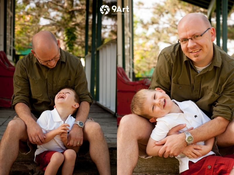hunter: baby's 1st year #3 dad & son