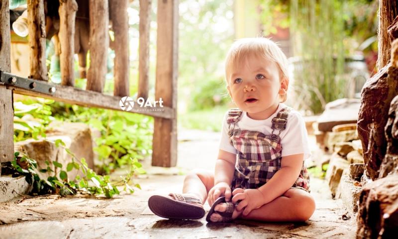 hunter: baby's 1st year #1