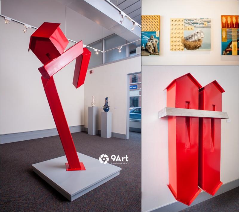 jorge leyva - studio joplin mo 8- spiva center for the arts display