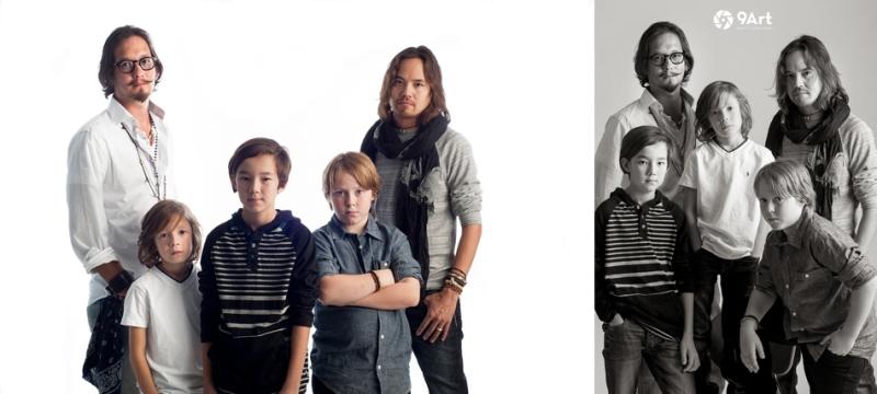 auckerman boys family rock star shoot, joplin mo family photographer-- 9art photography-5
