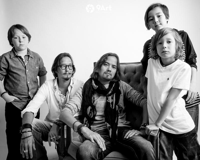 auckerman boys family rock star shoot, joplin mo family photographer-- 9art photography-9
