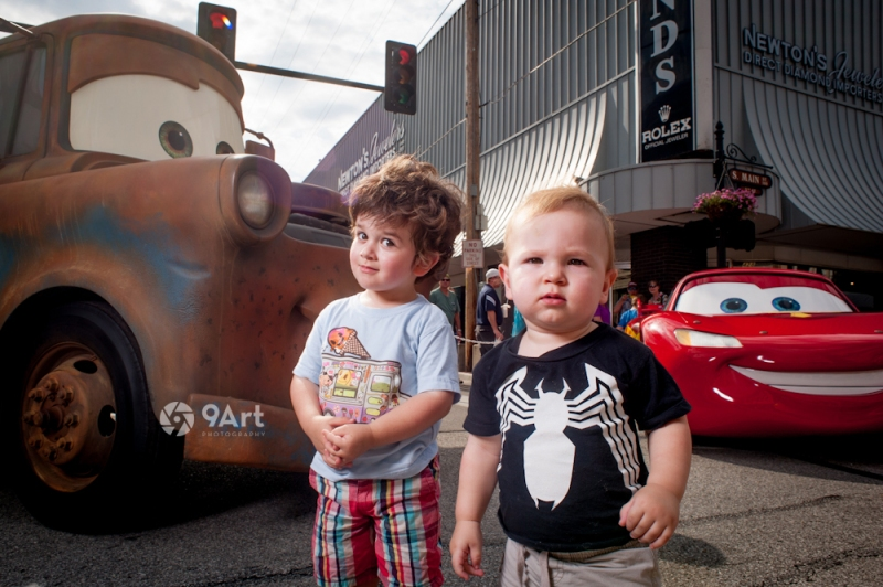 #2 'cars' themed Photo Booth with lightning mcqueen and mater, route 66 festival, joplin mo