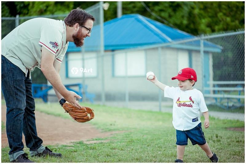 joplin mo family photographer, baseball field family photos of the oteros by 9art photography_0007b