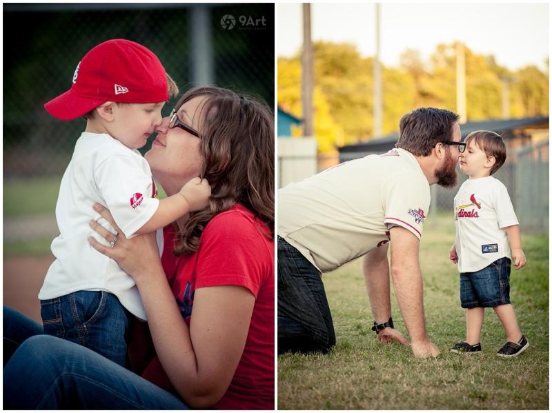 joplin mo family photographer, baseball field family photos of the oteros by 9art photography_0008b