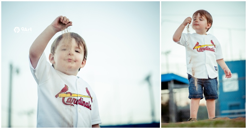 joplin mo family photographer, baseball field family photos of the oteros by 9art photography_0012b