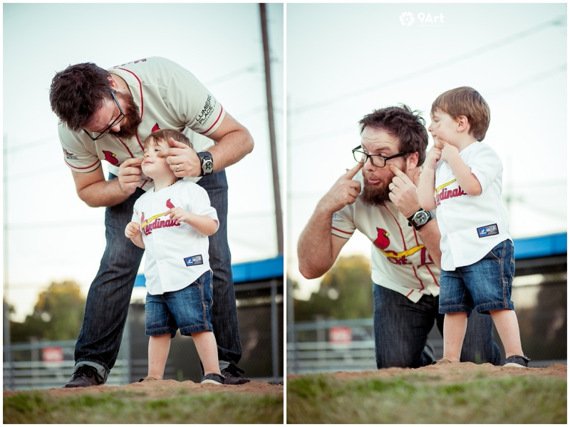 joplin mo family photographer, baseball field family photos of the oteros by 9art photography_0013b