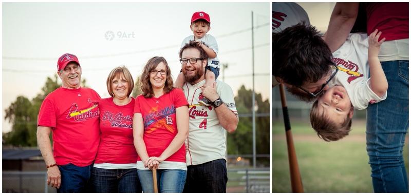 joplin mo family photographer, baseball field family photos of the oteros by 9art photography_0015b