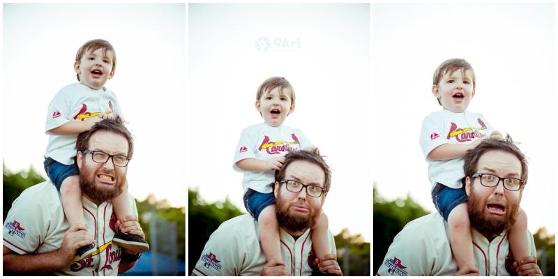 joplin mo family photographer, baseball field family photos of the oteros by 9art photography_0016b