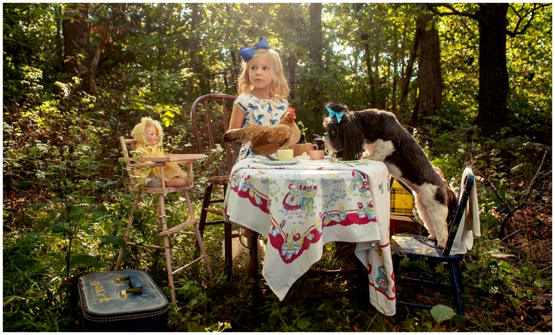 Fairytale Photographer fairy tale tea party concept shoot by lifestyle and editorial photographer 9art photography, Joplin MO_002b