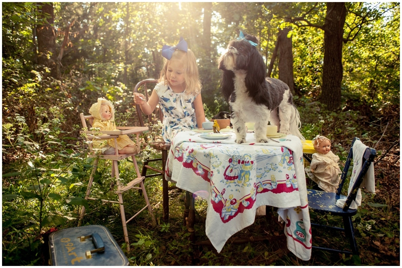 Fairytale Photographer fairy tale tea party concept shoot by lifestyle and editorial photographer 9art photography, Joplin MO_003b