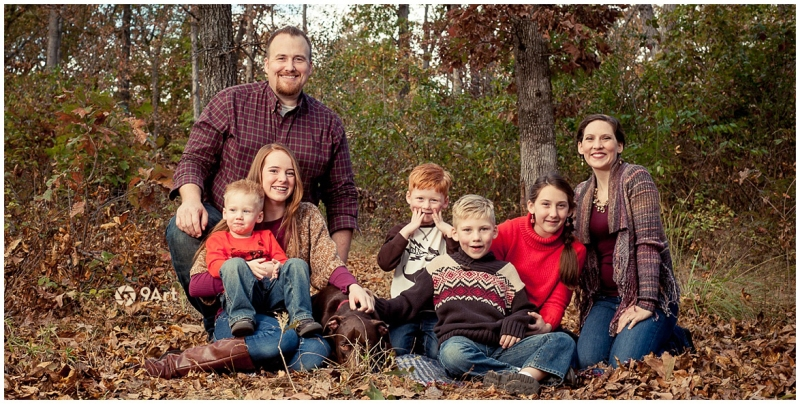fall family and kids portraits by joplin mo photographer 9art photography_0019b
