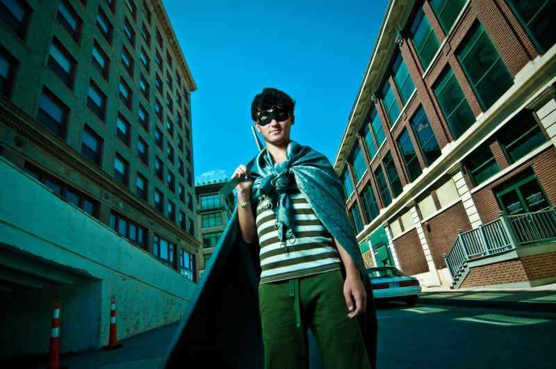 artists as superheroes concept series from fine art and commercial photographer 9art in joplin mo2